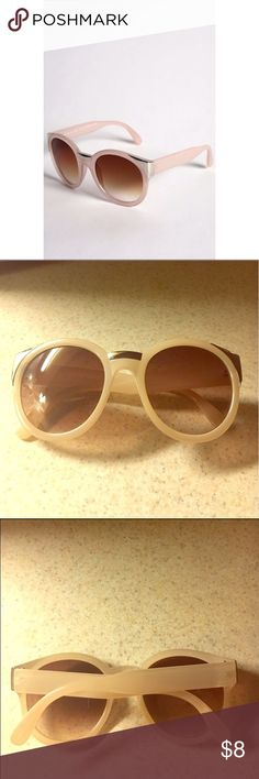 🎉Just In!🎉 URBAN OUTFITTERS Sunglasses PRICE IS FIRM!: COLOR(S): Nude Pink; LENS: Brown (Gradient); OUTER EDGES: Silver: 100% UV PROTECTION: Purchased from UO years ago before the prices of their sunglasses dropped: GOOD CONDITION; SCRATCHES AND SCUFFS ON THE EDGES AND THE MIDDLE (AS PICTURED IN THE 4TH PIC): NO SCRATCHES ON THE LENS!: IF YOU SEE THE BUY NOW BUTTON, THEY ARE STILL AVAILABLE: 🚫NO TRADES🚫 Urban Outfitters Accessories Sunglasses