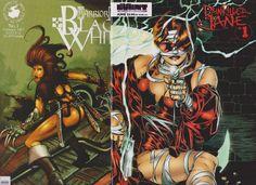 Painkiller Jane #1(Vol.1,1997),Warrior Nun:Black/White #1(1997)Set,SEXXY HOTT!!,