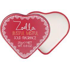Zoella Blissful Mistful Solid Fragrance Tin - 25g