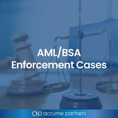 These enforcement actions highlight regulators' expectation that banks implement robust anti-money laundering/Bank Secrecy Act compliance programs. Internal Audit, Money Laundering, Aba, Snowflakes, Acting, Organization, Website, Learning, Organisation