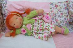 ♥ Friederikchen liebt Blumen  ... ♥ von meiner Lieblingspuppenmami : Elfenclaudia