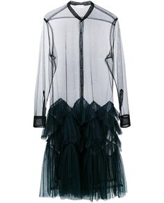 DRIES VAN NOTEN | Dalybe Embroidered Sheer Coat