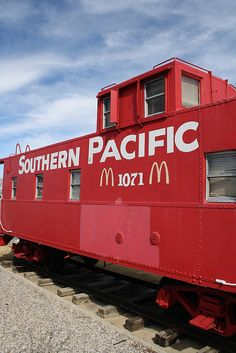 When I was a kid there was nothing I wanted more in life than to have a birthday party in the McDonald's Caboose. (El Paso, TX)