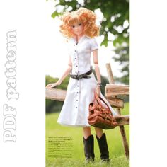 momoko doll clothes patterns - Google Search