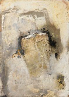 Wolfgang Walter: Body, in ocher floating, 2013, 60 x 40 cm