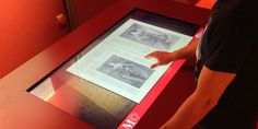TOUCHWINDOW - Touchscreen multimedia interactive table, InLine Multi-Touch Table