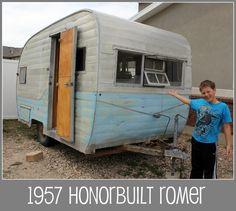 Vintage trailer DIY renovation