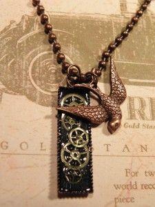 steampunk jewelry diy