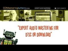 My latest promo video for CD Mastering by Henry Audio Mastering, Professional Audio, Sounds Good, Types Of Music, About Uk