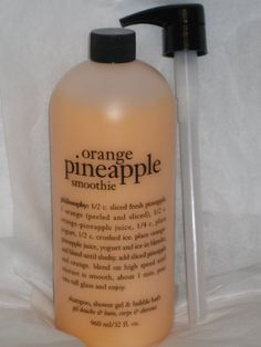 Philosophy Orange Pineapple Smoothie 32oz Shampoo Shower Gel and Bubble Bath All in One >>> This is an Amazon Affiliate link. Continue to the product at the image link.