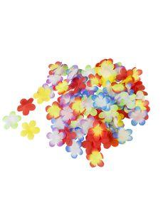 300 Fleurs Hawaï décoratives : Ce lot comporte environ300 fleurs décoratives Hawaïennes en matière synthétique.Ces fleurs sont de toutes les couleurs : blanches, rouges, oranges,... Animation, Sprinkles, White Colors, Motion Design, Cartoons