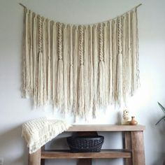 New extra large hanging! Rustic/Modern/Cozy