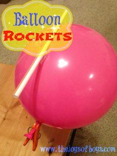 Balloon Rockets - The Joys of Boys