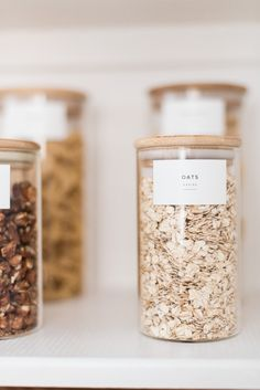 Pantry Reveal: How I Cut My Storage in Half - The Identité Collective organization pantry Kitchen Organisation, Organization Hacks, Organizing Solutions, Kitchen Organizers, Kitchen Styling, Kitchen Decor, Diy Kitchen, Pantry Design, Kitchen Pantry
