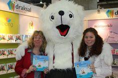 """Klimawandel für Kinder mit dem Buch """"Alarm im Polarmeer"""". Lesung auf der Leipziger Buchmesse. Das Klima Kinderbuch überall im Handel http://www.expertenwissen-fuer-alle.de/shop/Starke-Kinder/Alarm-im-Polarmeer.html"""