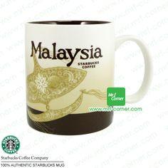 S370 16oz Starbucks City Series Malaysia Mug, Mrf-corner OnlineStore