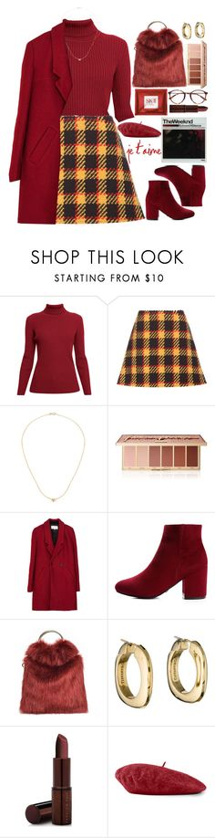 """""""Je T'aime"""" by fashioneex ❤ liked on Polyvore featuring Rumour London, Marni, Anine Bing, tarte, Tiffany & Co., Fashion Fair and Gucci"""