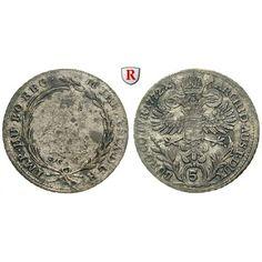Römisch Deutsches Reich, Maria Theresia, 5 Kreuzer 1772, vz: Maria Theresia 1740-1780. 5 Kreuzer 1772 Günzburg SC. Brustbild r. im… #coins