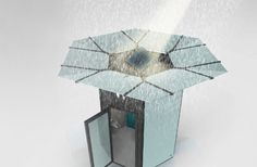 ZESS - Solar-Powered Public Toilet Harvests Rainwater