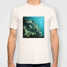 """T-shirts with the digital painting """"Tunnelvisions/DeadCoralReef2"""", 2015"""