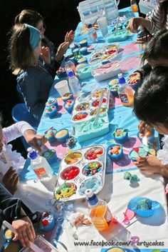 """Photo 18 of 25: Under the Sea / Birthday """"Mermaid Cupcake Party""""   Catch My Party"""