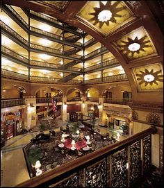 Brown Palace Hotel in Denver, Co. One of my favorite hotels. Beautiful and rich with history