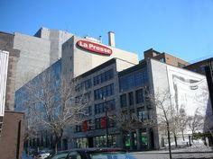 March 2013, Press Release, Medium Art, Newspaper, Montreal, Mars, Announcement, History, Building