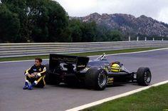 Ayrton Senna and the Lotus John Player Special