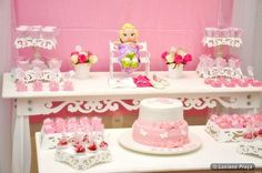 Ballerina Baby Shower Party Ideas | Photo 4 of 11 | Catch My Party