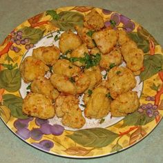 Chicken Nuggets 1 lb chicken tenders cut 2 inch pieces 1/3 cup grated fresh Parmigiano Regiano 1/4 tsp salt 1/8 tsp paprika 3 tsp Paul Prudhomme Poultry Seasoning or Poultry Seasoning 1/2 cup fine panko 2 whisked eggs 1/3 cup flour 2 tablespoons oil (I used EVOO, Olive oil)