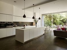 Kitchen Architecture - Home - family entertaining space