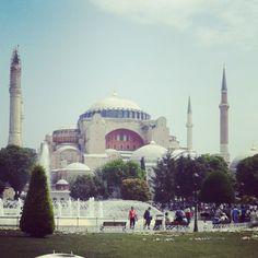 .@aliyes35   Ayasofya - İstanbul #istanbul #ayasofya #mosque   Webstagram - the best Instagram viewer