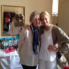 Caroline Lagerfelt (The Homesman) and Kelly Rutherford (Gossip Girl) pose at the DPA Gifting Suite #Dpagifting by Nathalie Dubois during Cannes Film Festival 2014