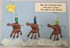 Karen's Preschool Ideas: Christmas Crafts for Children - the three wise men Preschool Christmas Crafts, Nativity Crafts, Preschool Ideas, Preschool Bible, Christian Preschool Crafts, Christmas Crafts For Kids To Make Toddlers, Kids Crafts, Craft Projects, Sunday School Activities