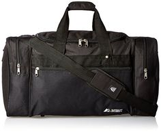 Everest Sports Duffel - Large, Black, One Size - Works great, just what I wanted.When you need new sports & fitness gear equipment, you're naturally looking for Truck Accessories, Accessories Store, Rucksack Backpack, Duffel Bag, Best Trail Running Shoes, Sequin Backpack, Luggage Brands, Running Shoe Reviews, Best Gym