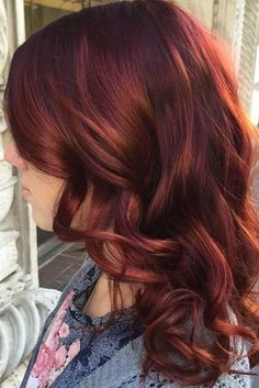 Enchanting Shades and Styles of Red Hair for a Sultry New Look ★ See more: http://glaminati.com/shades-red-hair/