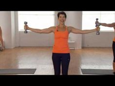 "Segments from the ""Escape Your Shape: 21-Day Makeover"" workout video: Six workouts based on the concept of matching the exercises to your ""body type."" First,..."
