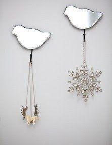 Mirrored Bird Hook by Belle Maison, http://www.amazon.co.uk/dp/B00CBJDFAA/ref=cm_sw_r_pi_dp_G7gftb1KZM0RR