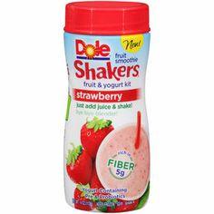 Dole Shakers Strawberry Fruit & Yogurt Kit, 4 oz. so good!