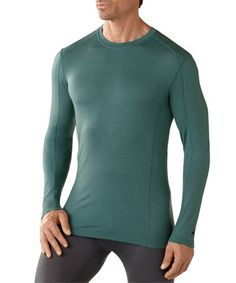 Another great find on #zulily! Sea Pine NTS 150 Merino Crewneck Long Sleeve Tee - Men #zulilyfinds