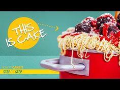 How To Make The Ultimate CAKE | Cake of Cakes Tutorial | How To Cake It | Yolanda Gampp - YouTube Chocolate And Vanilla Cake, How To Make Spaghetti, Italian Cake, 3d Cakes, Spaghetti And Meatballs, Cake Tutorial, Creative Cakes, Tart, Cake Decorating