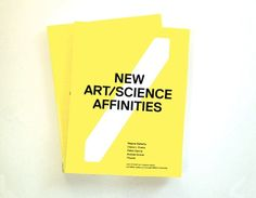 A book about the intersection between art, science, and technology. I like.