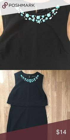 Back dress Unbranded Perfect condition, a true beauty. Excellent beaded detail, gorgeous! Zara Dresses