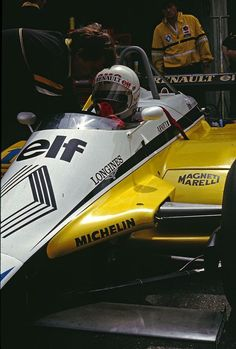 Rene Arnoux (1982 Swiss Grand Prix) by F1-history on @DeviantArt
