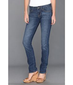 Lucky Brand Sweet Jean Straight Ankle in Mebane Mebane - Zappos.com Free Shipping BOTH Ways