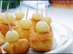 Queso camembert empanado con uvas, Receta Petitchef