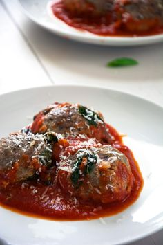 Juicy meatballs filled with creamy and tangy goat cheese, are baked in a rustic tomato sauce with basil and cherry tomatoes. Serve over fresh pasta or serve with toasted baguettes for a comforting meal!