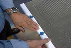 How to Lay Ceramic Tile on a Laminate Countertop • Ron Hazelton Online • DIY Ideas & Projects
