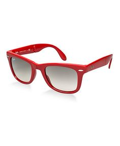 Ray-Ban Sunglasses, RB4105 Folding Wayfarer - Mens Sunglasses - Macy's