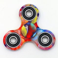 YLINGSU TRI- Fidget Spinner Hand Spinner ADD ADHD Focus Toy Ultra Durable High Speed Rotate (purple color)